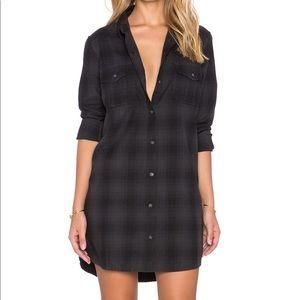 Obey Abbey Shirt Dress XS